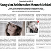 (Deutsch) Songs im Zeichen der Menschlichkeit